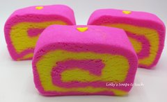 Lemon Rose Water Bubble Bar