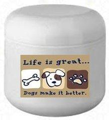 Dogs Make it Better Natural Skin Cream