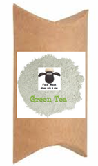 Green Tea Natural Face Mask - Just Add Water