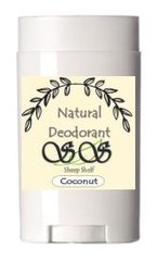 Natural Deodorant Extra Coconut By The Sheep Shelf