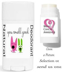 Popular Theme Labels For Your Natural Deodorant Choose a Picture