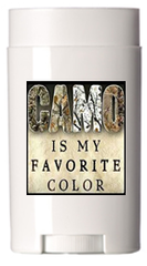 Camo Is my Favorite Color - Natural Deodorant