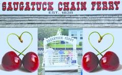 Saugatuck Cherry Chain Ferry