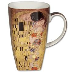 """Grand Mug Klimt """"The Kiss"""""""