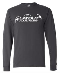 Layout Addictions Logo Long Sleeve