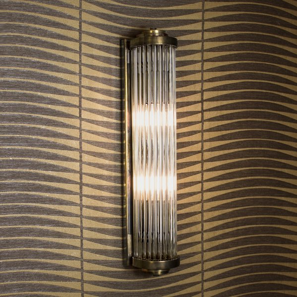 850b gatsby art deco wall light medium