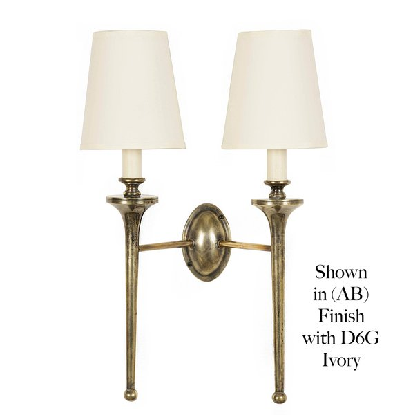 (721T) Grosvenor Twin Wall Sconce