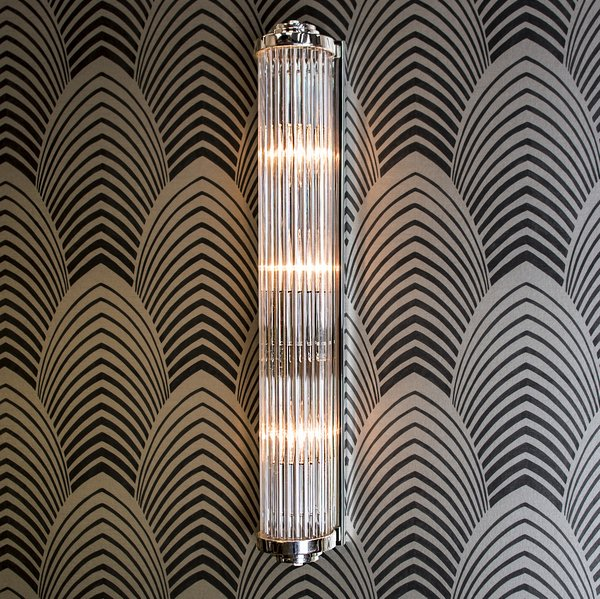 850a gatsby art deco wall light large the limehouse for Art deco exterior light fixtures