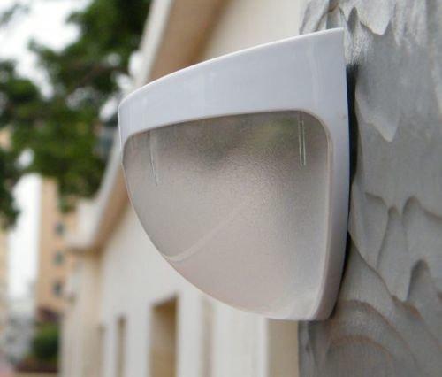 Solar light lamp led garden security motion sensor outdoor quace quace solar white led light wall mount aloadofball Images