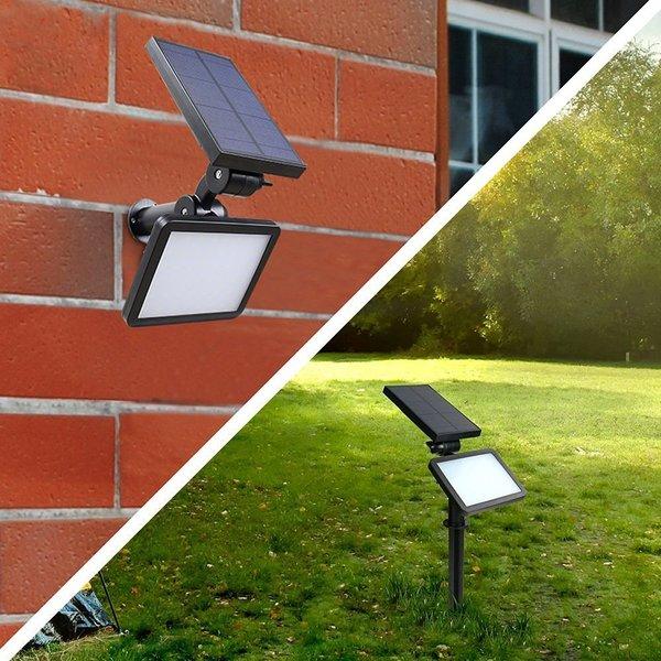Quace Brand New 48 LED Super Bright 960 Lumens Solar Light Outdoor Led Spotlight For Garden