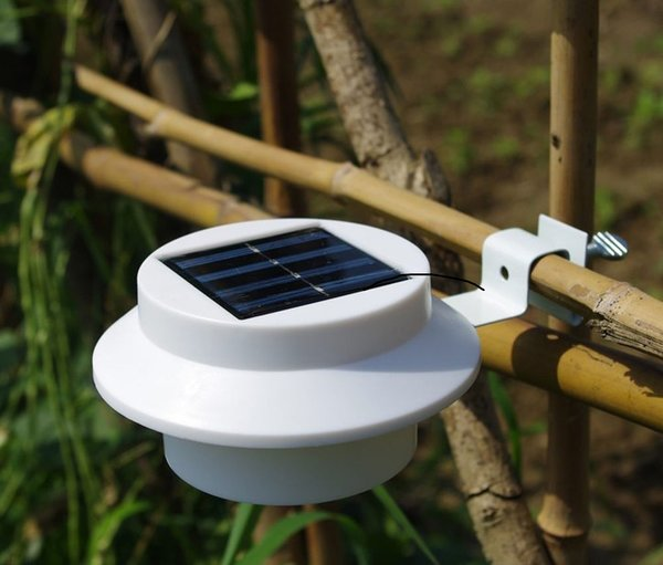 Solar light lamp led garden security motion sensor outdoor quace quace solar led light with bracket white aloadofball Images