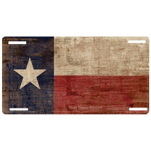 Vintage Texas License Plate 2
