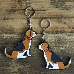 Beagle Keyring