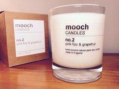 mooch CANDLES no.2 pink fizz & grapefruit