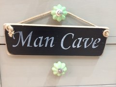 Man Cave Sign by Austin Sloan