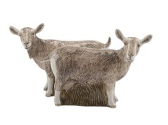 Goat Salt and Pepper by Quail Ceramics