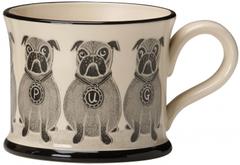 Pug Mug by Moorland Pottery