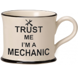 Trust Me I'm a Mechanic by Moorland Pottery