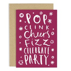 Pop Clink Cheers.... Card