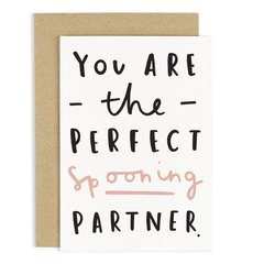 You Are the Perfect Spooning Card