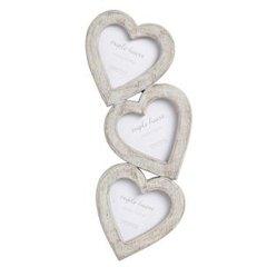 Triple heart frame