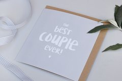 The Best Couple Ever - Card by Abbie Worton