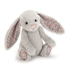 BLOSSOM SILVER BUNNY SMALL (18cm) by Jellycat