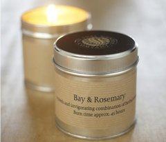 Bay & Rosemary Candle Tin