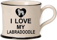 I love my Labradoodle Mug by Moorland Pottery