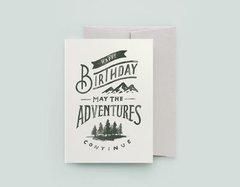 Adventures Continue - Adventures In Type