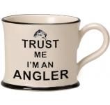 Trust Me I'm a Angler by Moorland Pottery