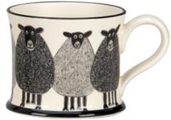 Sheep Mug By Moorland Pottery