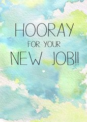 Hooray for your New Job by Laura Truby