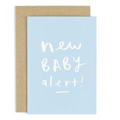 New Baby Alert Card