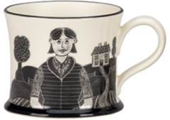 Country Girl Mug by Moorland Pottery