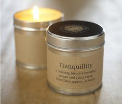 Tranquillity Candle Tin
