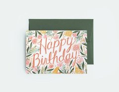 In Bloom Birthday I By Leah Quinn