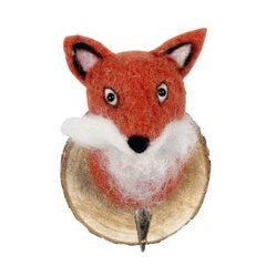 Felt fox trophy hook