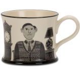 Gumpy Old Man by Moorland Pottery