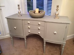Shabby Chic Sideboard in Autentico Soft Grey