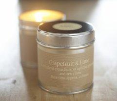 Grapefruit & Lime Candle Tin