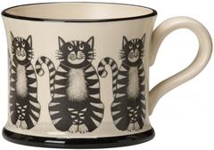 Cat Mug by Moorland Pottery