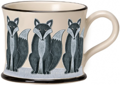 Fox Mug by Moorland Pottery