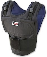 X40 XVEST ONLY-The X40 Xvest comes with no weights. The X40 Xvest can hold up to 40 one pound weights.