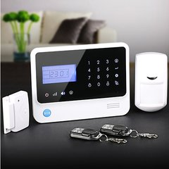 Wireless Home Alarm system (WiFi + GSM)