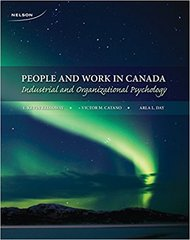 People and Work in Canada-Industrial and Organizational Psychiatry by E. Kevin Kelloway, Victor M. Catano and Arla L. Day