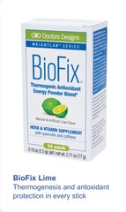 BioFix® Thermogenic Antioxidant Packets - Lime