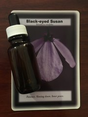 BFE - Black-Eyed Susan Dosage Bottle 25ml - The Stress Remedy -Patience, Slowing Down, Inner Peace