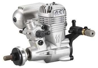 O.S. MAX .15LA RC Airplane Engine with 1 Litre Nitro Fuel