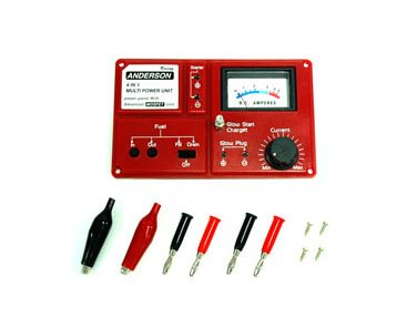 Power Panel with Fuel Pump Incl. Glow Start Charger